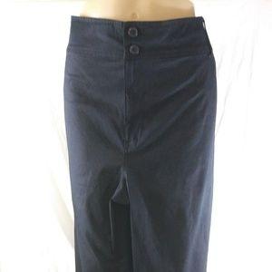 Venezia Plus Size 20 Black Cropped Pants